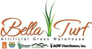 bella turf artificial grass logo